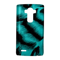 Blue Background Fabric Tiger  Animal Motifs Lg G4 Hardshell Case