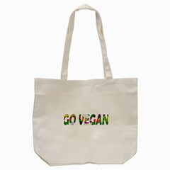 Go vegan Tote Bag (Cream)