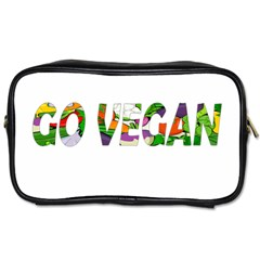 Go vegan Toiletries Bags