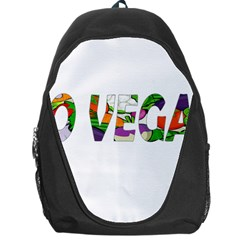 Go vegan Backpack Bag