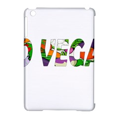 Go vegan Apple iPad Mini Hardshell Case (Compatible with Smart Cover)