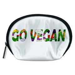 Go vegan Accessory Pouches (Medium)