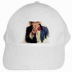 Uncle Sam White Cap
