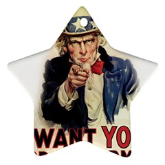 Uncle Sam Ornament (Star)
