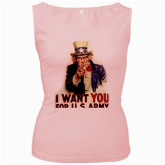 Uncle Sam Women s Pink Tank Top