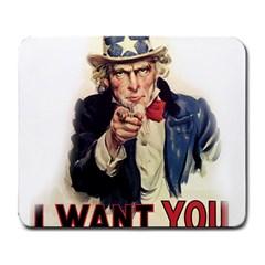Uncle Sam Large Mousepads