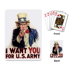 Uncle Sam Playing Card