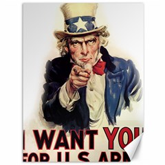 Uncle Sam Canvas 36  x 48