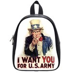 Uncle Sam School Bags (Small)  Front