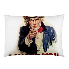 Uncle Sam Pillow Case (Two Sides)