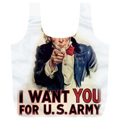 Uncle Sam Full Print Recycle Bags (L)