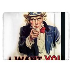 Uncle Sam Samsung Galaxy Tab Pro 12 2  Flip Case