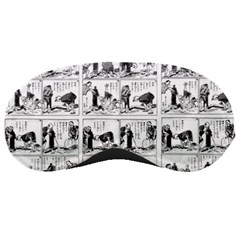 Old comic strip Sleeping Masks