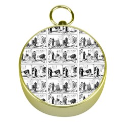 Old comic strip Gold Compasses