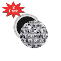 Old comic strip 1.75  Magnets (10 pack)