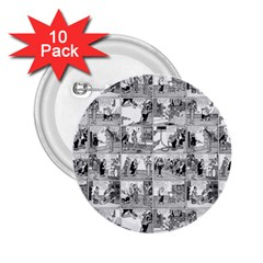 Old comic strip 2.25  Buttons (10 pack)