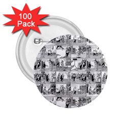 Old comic strip 2.25  Buttons (100 pack)