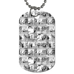 Old comic strip Dog Tag (One Side)