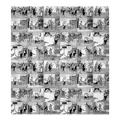 Old comic strip Shower Curtain 66  x 72  (Large)