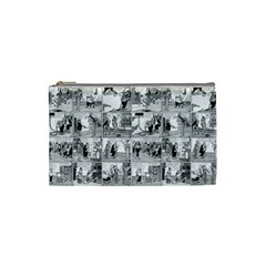 Old comic strip Cosmetic Bag (Small)
