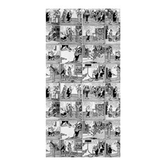 Old comic strip Shower Curtain 36  x 72  (Stall)