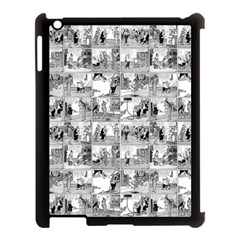 Old comic strip Apple iPad 3/4 Case (Black)