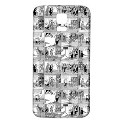 Old comic strip Samsung Galaxy S5 Back Case (White)