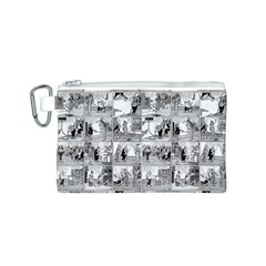 Old comic strip Canvas Cosmetic Bag (S)