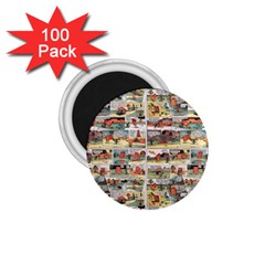 Old comic strip 1.75  Magnets (100 pack)