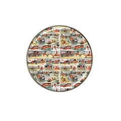 Old comic strip Hat Clip Ball Marker (10 pack)