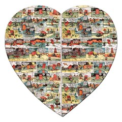 Old comic strip Jigsaw Puzzle (Heart)