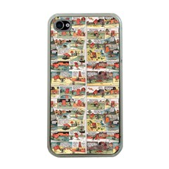 Old comic strip Apple iPhone 4 Case (Clear)