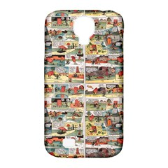 Old comic strip Samsung Galaxy S4 Classic Hardshell Case (PC+Silicone)