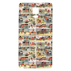 Old comic strip Galaxy Note 4 Back Case