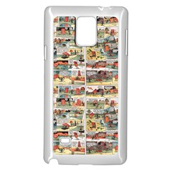 Old comic strip Samsung Galaxy Note 4 Case (White)