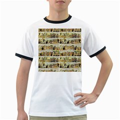Old comic strip Ringer T-Shirts