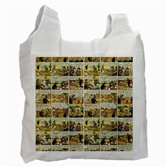 Old comic strip Recycle Bag (One Side)