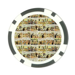 Old comic strip Poker Chip Card Guard (10 pack)