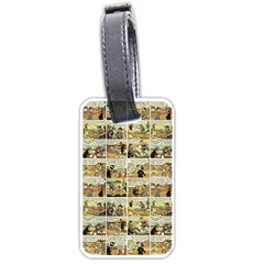 Old comic strip Luggage Tags (One Side)