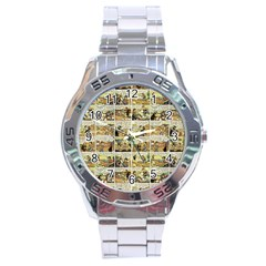 Old comic strip Stainless Steel Analogue Watch