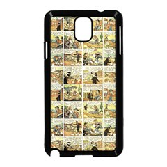 Old comic strip Samsung Galaxy Note 3 Neo Hardshell Case (Black)
