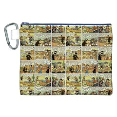 Old comic strip Canvas Cosmetic Bag (XXL)