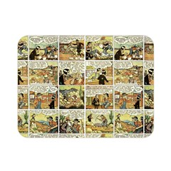 Old comic strip Double Sided Flano Blanket (Mini)