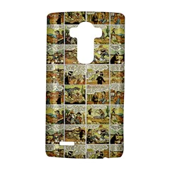 Old comic strip LG G4 Hardshell Case