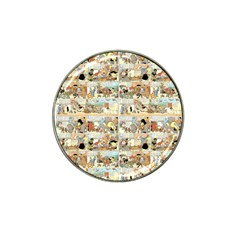 Old comic strip Hat Clip Ball Marker (4 pack)
