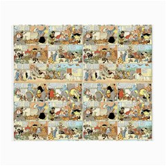 Old comic strip Small Glasses Cloth (2-Side)