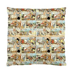 Old comic strip Standard Cushion Case (Two Sides)