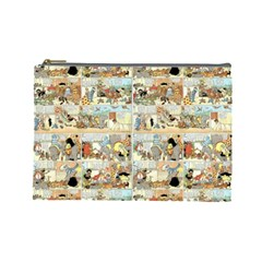 Old comic strip Cosmetic Bag (Large)