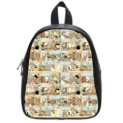 Old comic strip School Bags (Small)