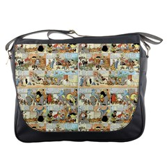 Old comic strip Messenger Bags
